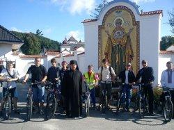 Відбулась перша велопроща до Унева